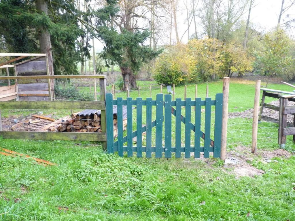 Portail pour enclos chèvre