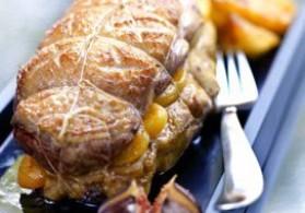 Recette rôti de magret de canard aux abricots secs